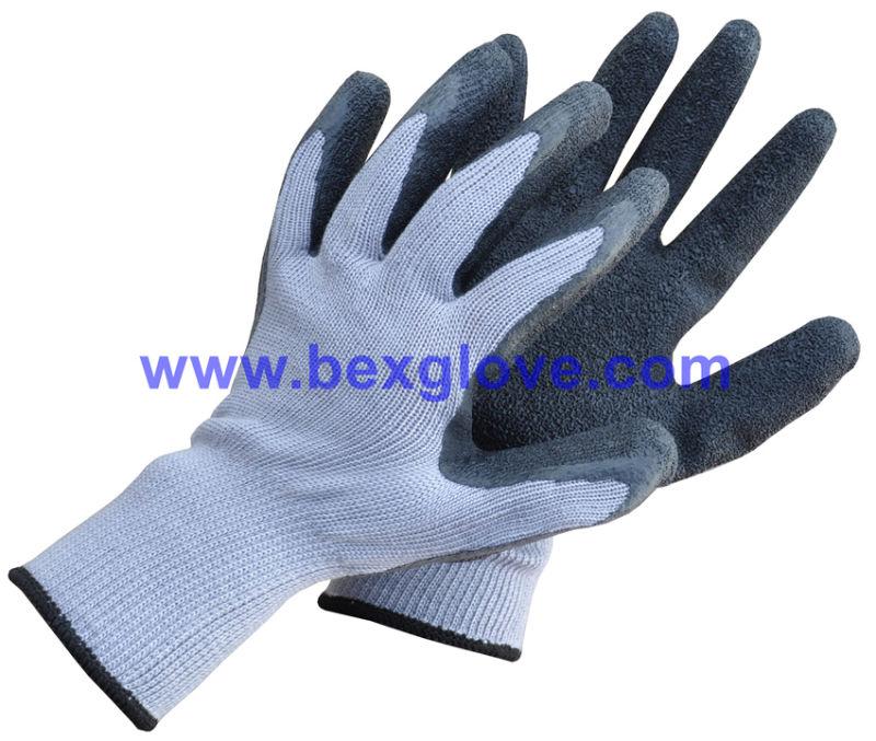 Green Latex Garden Glove