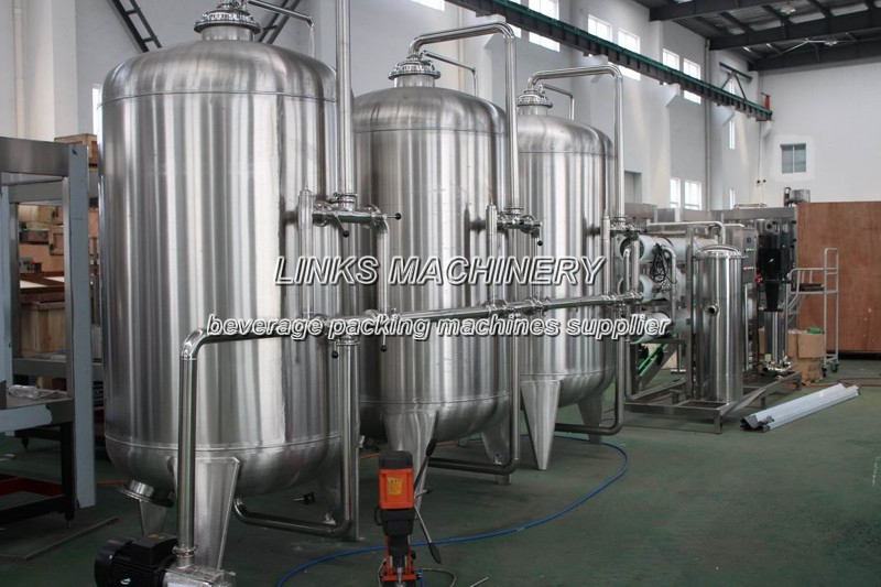 Water Treatment System for Low Investment Plant