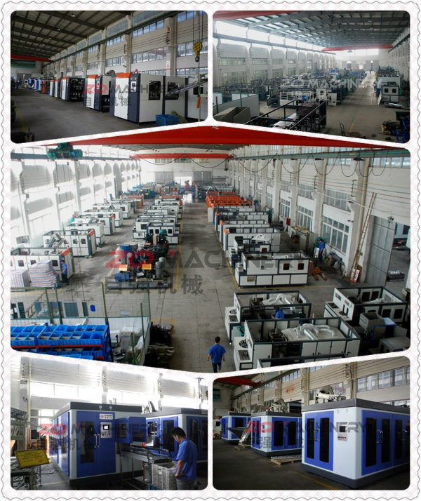 Pet Bottle Blowing Molding Machinery with CE (ZQ-B20000-1)