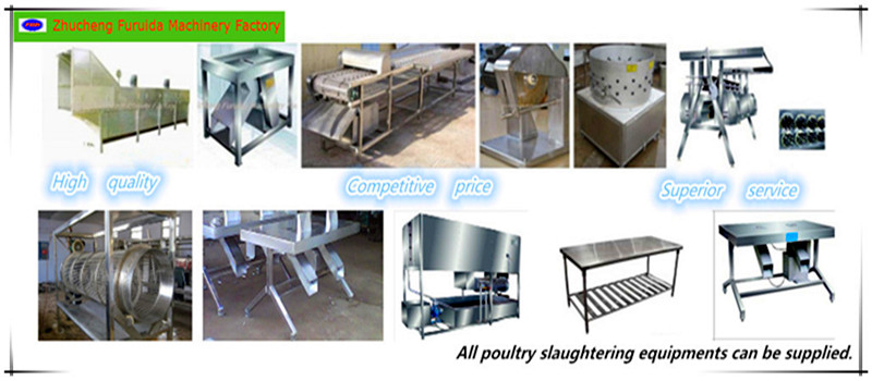 Poultry Slaughter Line: Pre-Cooling/ Precooler Machine for Slaughtering