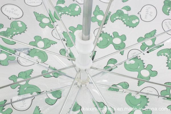 Safe Manual Open Poe Straight Umbrella