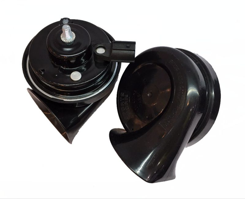 Hot Selling 12V Waterproof Electric Car Horn, Auto Snail Horn E-MARK Approved