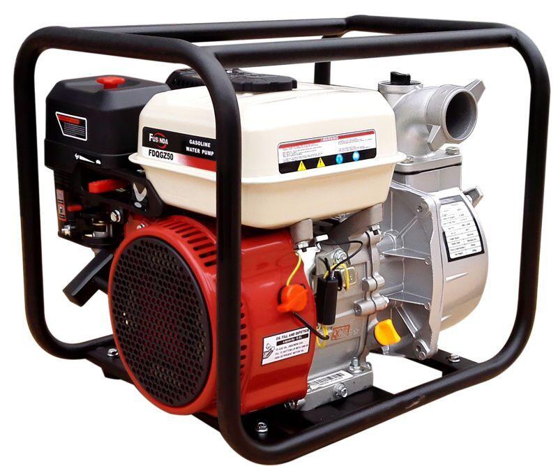 Gasoline Engine Powered 2 Inch Centrifugal Water Pump for Farm Irrigation