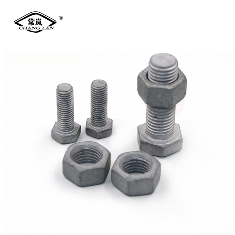 Carbon Steel Zn Hotplating Bolts