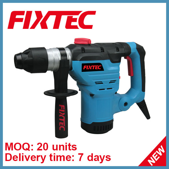 Fixtec Power Tool 1500W Electric Rotary Hammer Drill