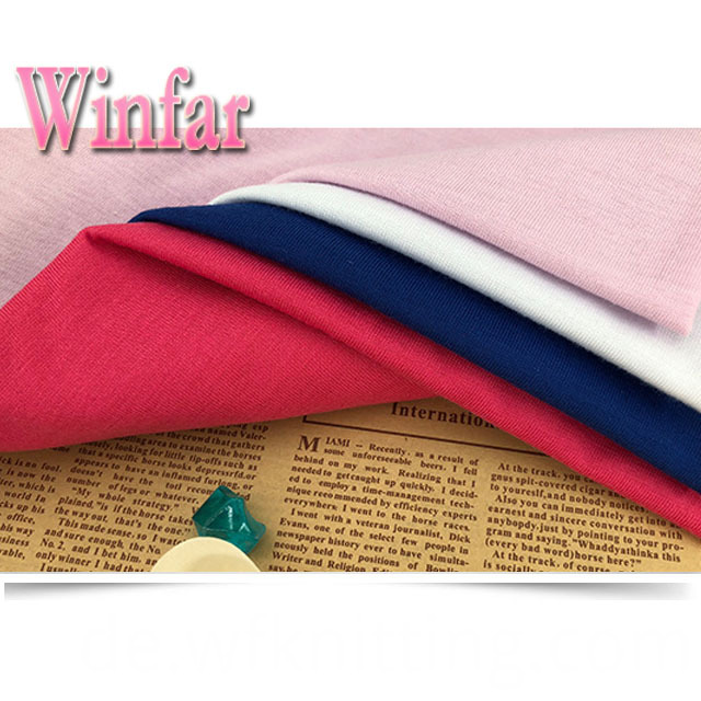 Single Jersey Polyester Stretch Fabric