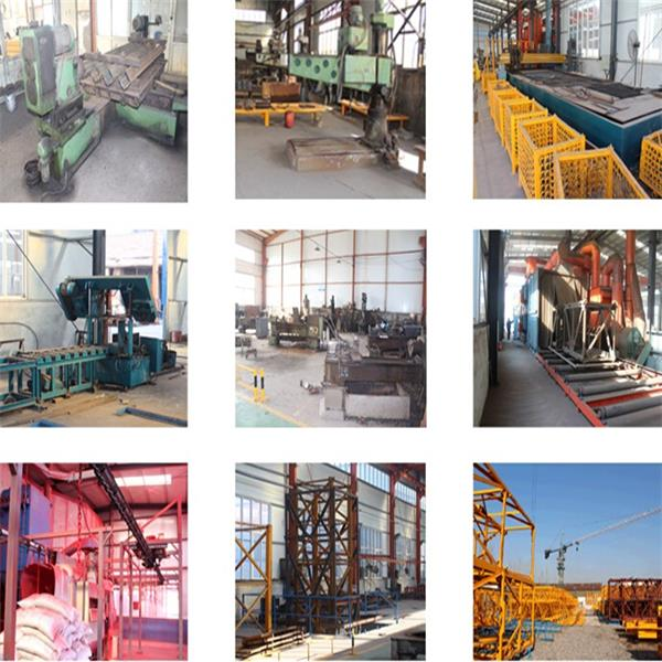High Quality China Factory Luffing Jib Tower Cranes
