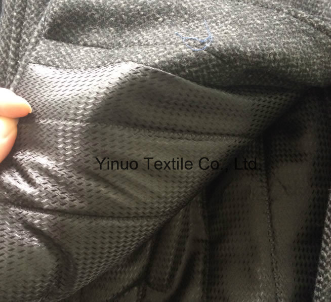 100 Polyester Men's Suit Lining Fabric China Manufacturer