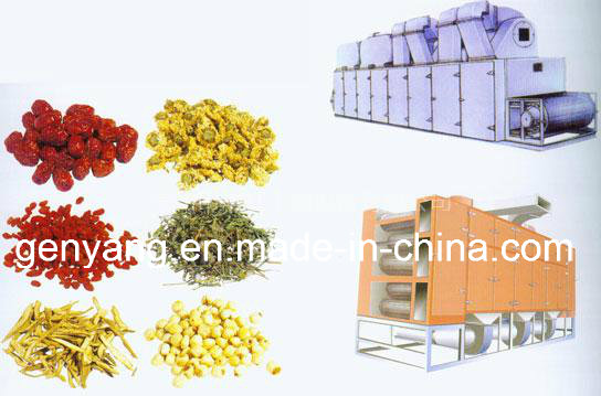 Continuous Fruit Vegetable Belt Drying Machine