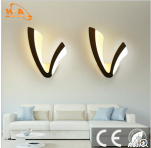 Children's Room Necessary V Shaped Lovely Lighting Wall Lamp