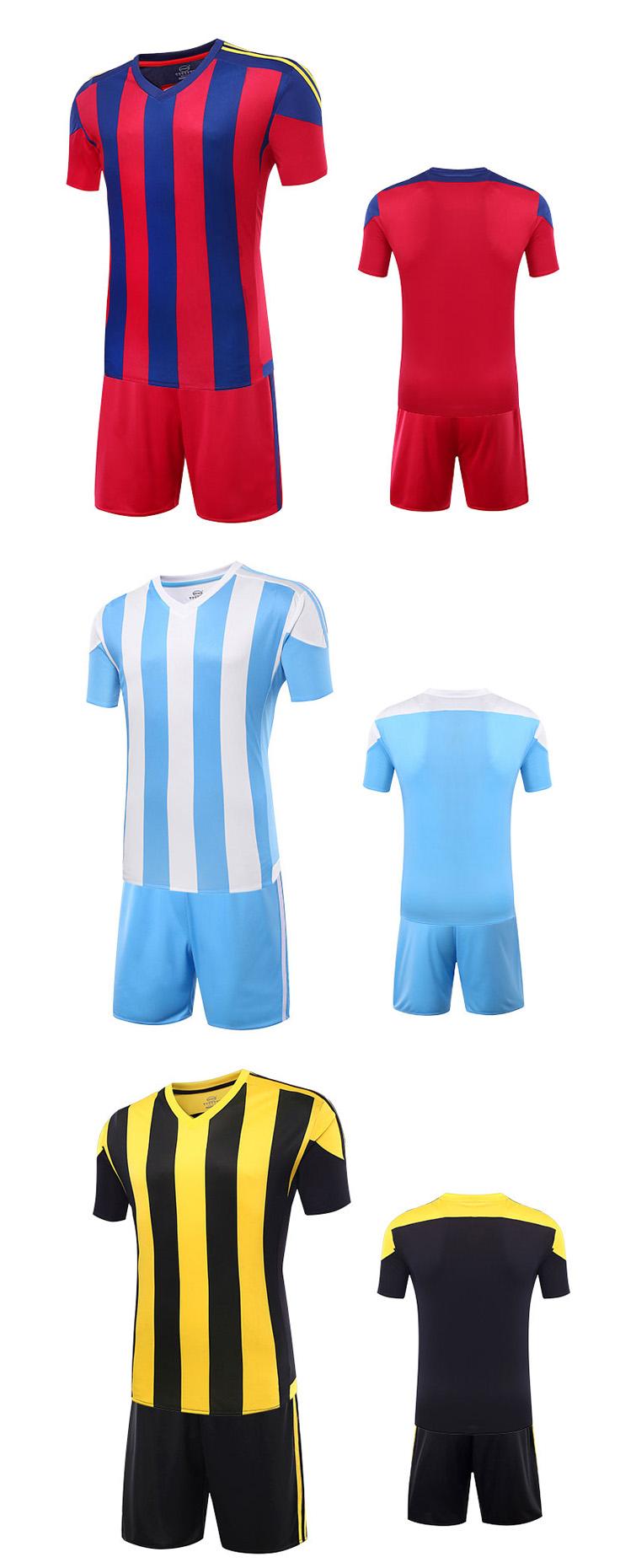 2016 Wholesale Custom Soccer Jersey Football Shirt