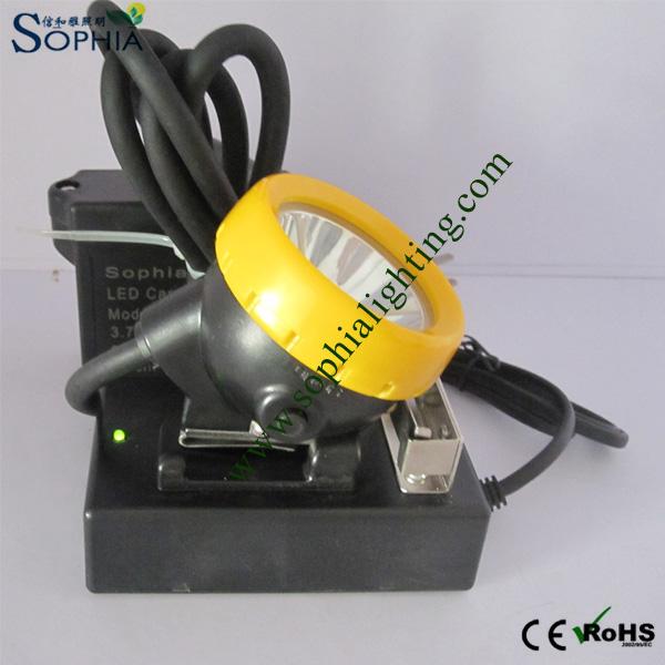 6600mAh Rechargeable Waterproof IP68 Underground Mining Light