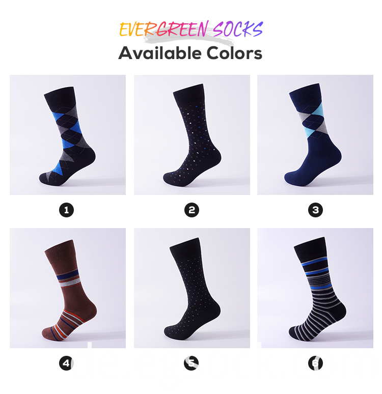 Dots Plaid Stripe Design Socks