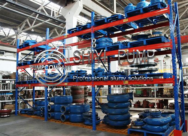 Single Stage Coal Wash Pump Parts