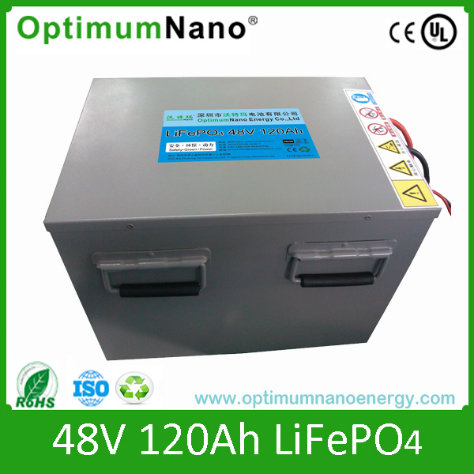 Lithium Ion Battery 48V 120ah for Energy Storage