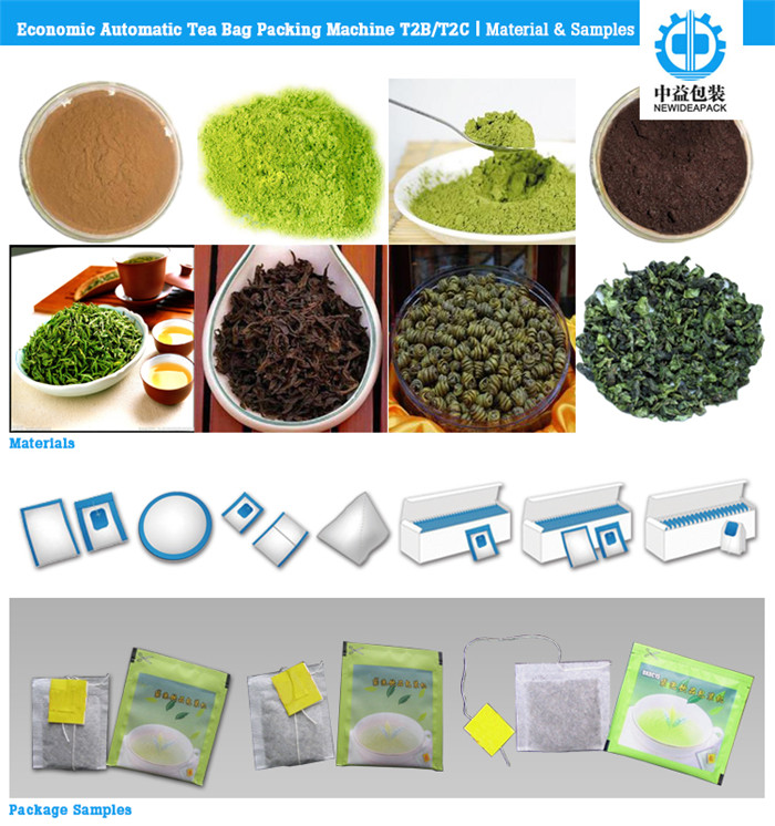 Automatic Tea Bag Package Machine (ND-T2B/T2C)