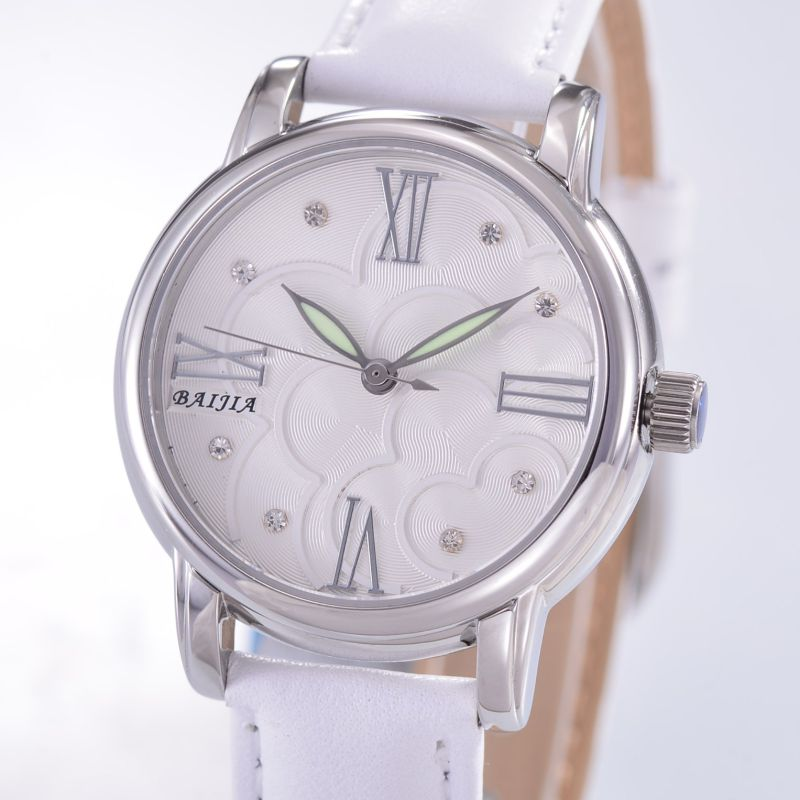 Hot Sale Quarts Wrist Watches with Japan Movement for Women