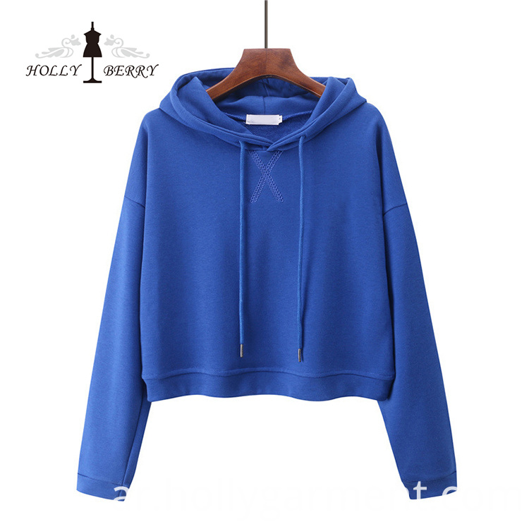 100% Cotton Hoodies Women