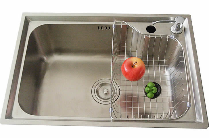 Stainless steel sink household