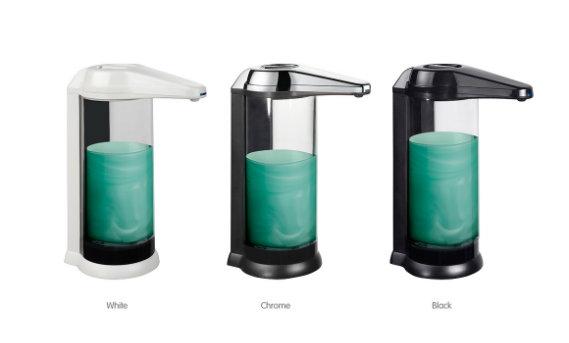 500ml Automatic Liquid Soap Dispenser, Spray Alcohol Dispenser