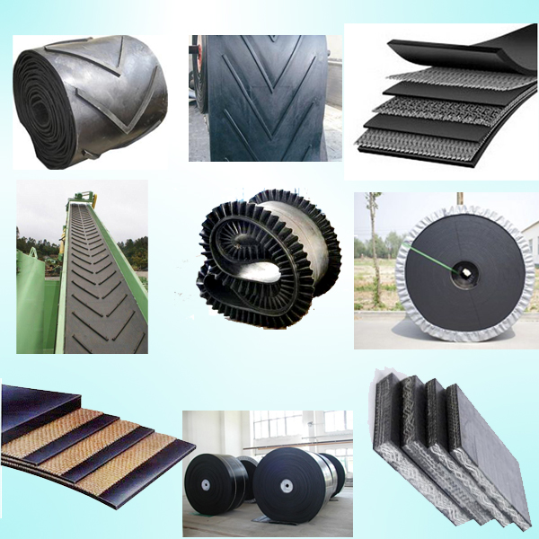 Coal Mine Ep Rubber Belt / Multy-Ply Ep Conveyor Belt Manufacturer in China