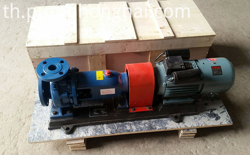 pump driven by single phase electric motor