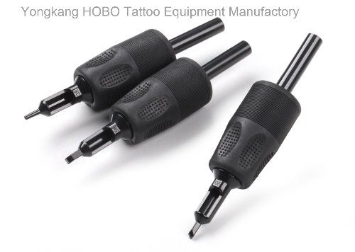 Black Tattoo Products Disposable Tatto Grips Supplies with Ce Certification