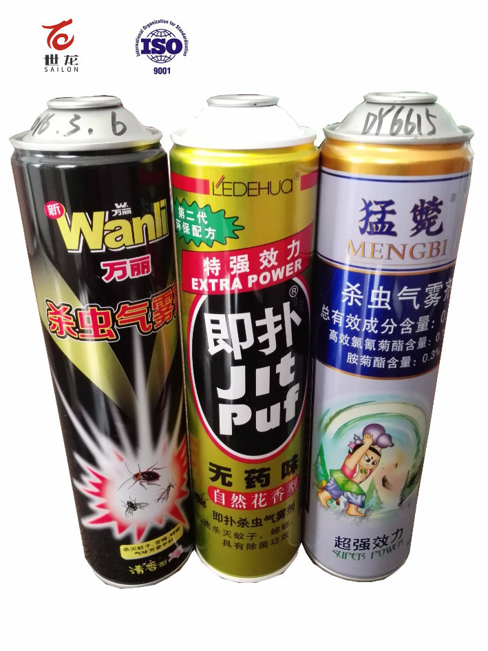 Empty Aerosol Cans for Insect Killing Repellent (600ml)