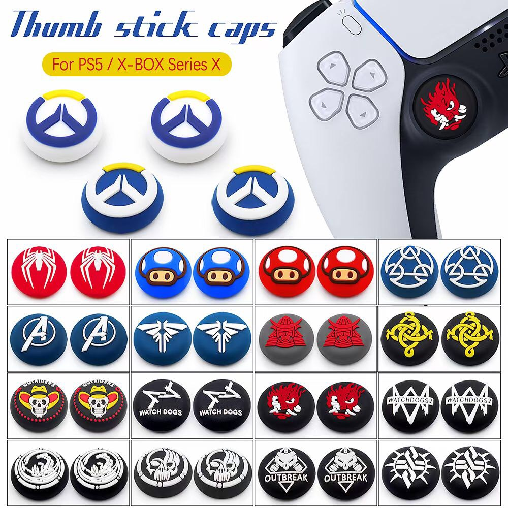 PS5 Silicone Grip Caps