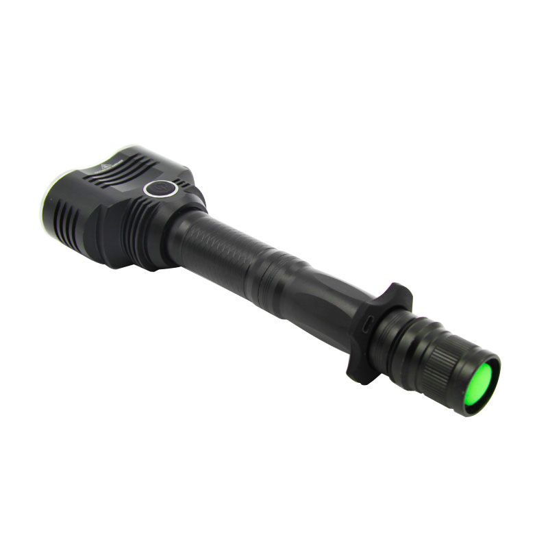 F40 Aluminum 10W Xml T6 LEDs 1200lumens Outdoor Tactical Flashlight
