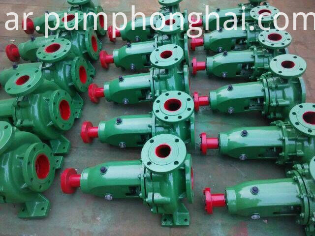 IS series water bare pump
