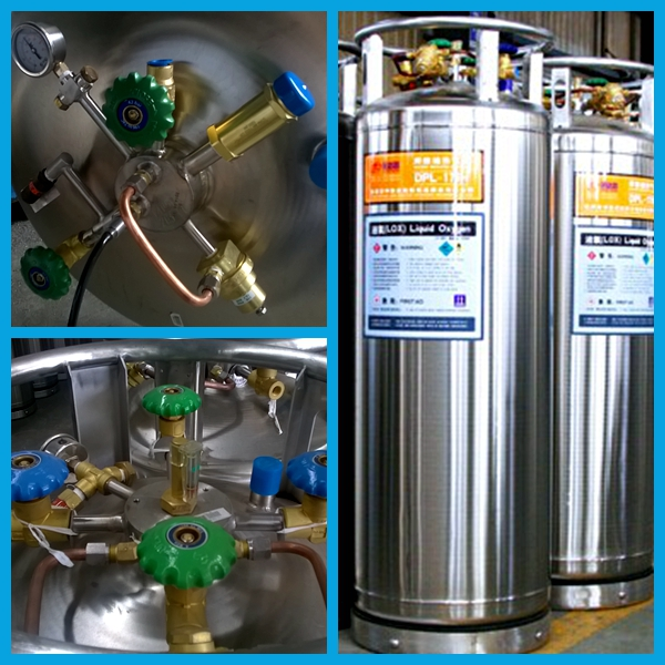 2014 New Medical Use Liquid Nitrogen Dewar Cylinders (DPL-450-175)