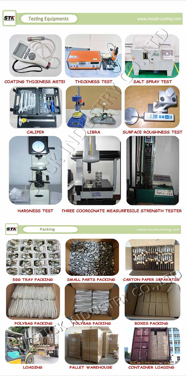 Alloy Aluminum Die Casting for Door/Window Hardware (STK-ADO0002)