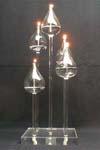 Various Glass Candle Holder/Candlestick/Candleholder