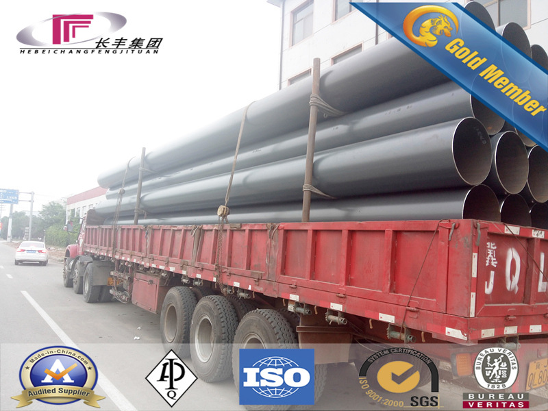 Mild Steel Seamless Pipe A106 Under Highly Temperature Working
