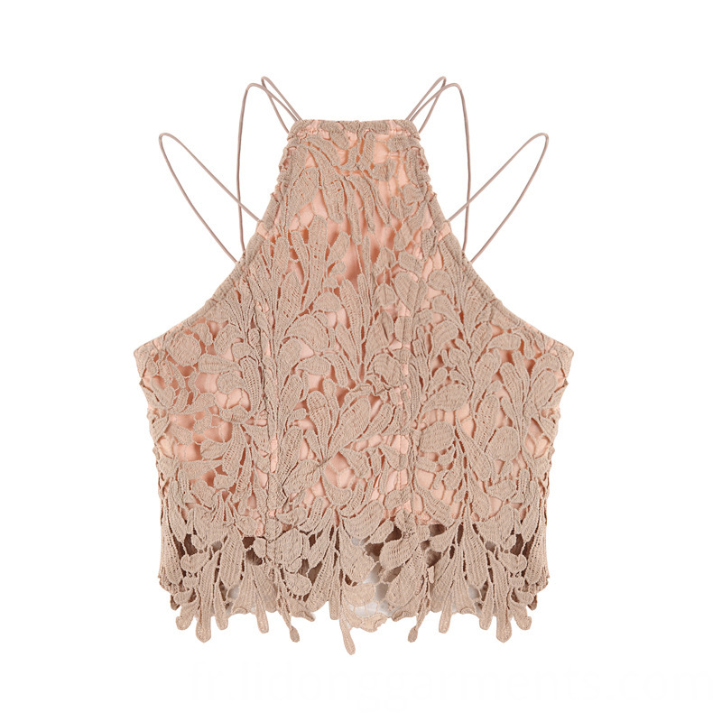 Elegant Lace Crop Tops