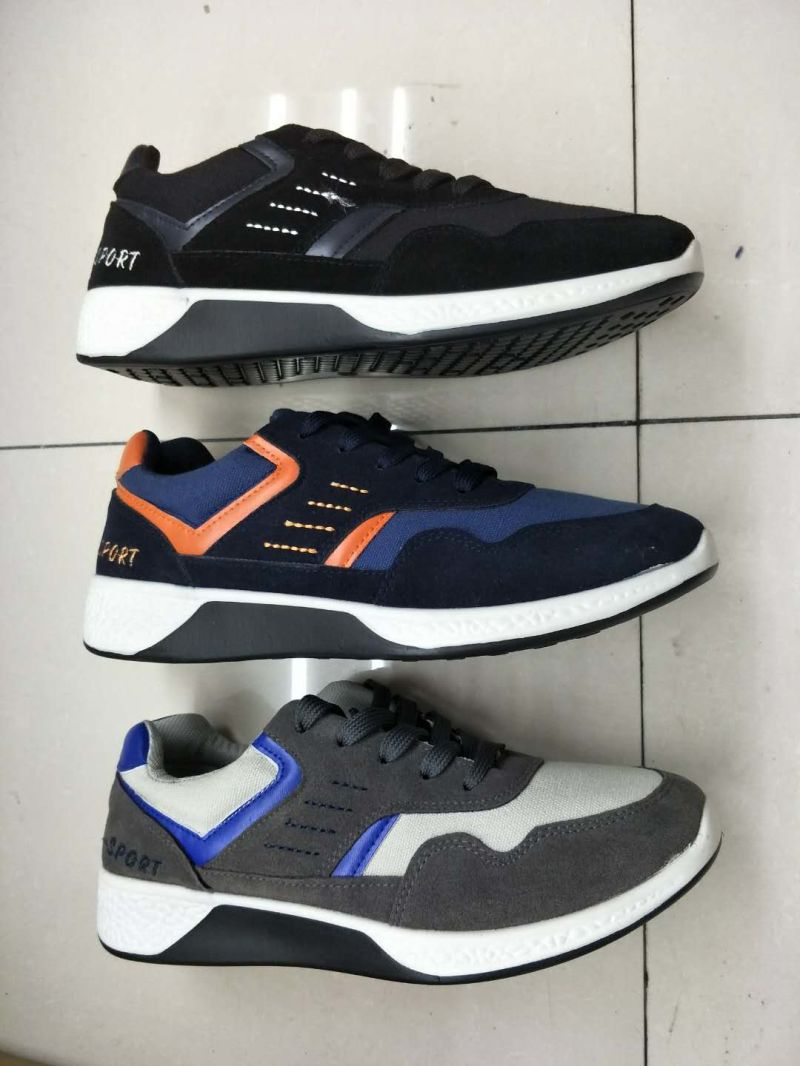 Stock Shoes No MOQ Sports Casual Injection Run Classical