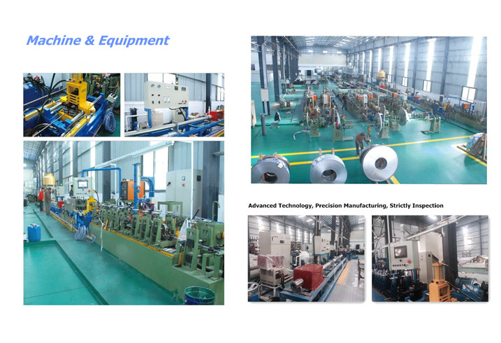 SUS304 GB Stainless Steel Heat Insulation Stainless Steel Pipe (25.4*1.0 ))