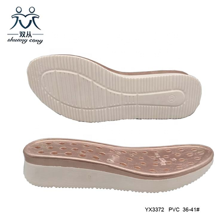 pvc shoes sole