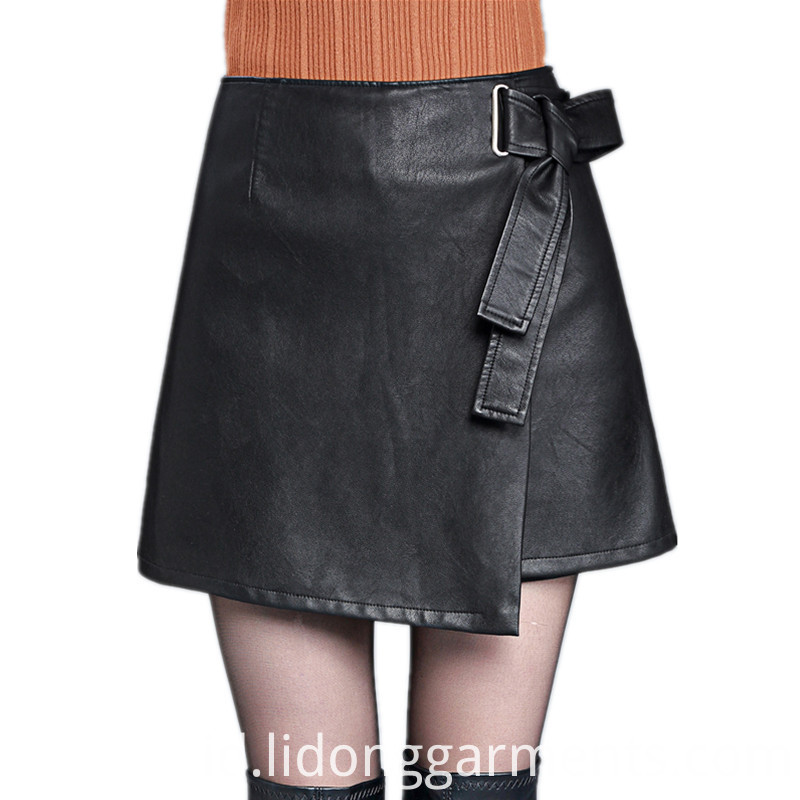 Women Casual Dress with Bow Belt