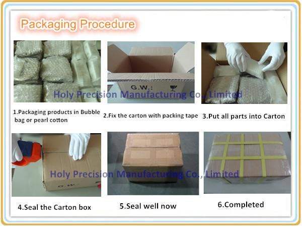 Outer Plate CNC Milling Machining 6063 Aluminum Custom CNC Parts
