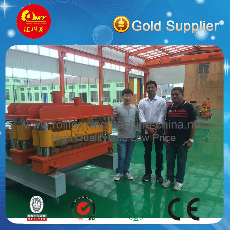 Hky Automatic Steel Roof Forming Machine