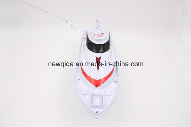 Cheap Nqd 1/25 White Yellow Ship RC Remote Control Boat Model