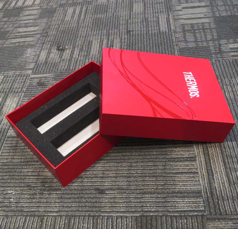 Thermos Vacuum Cup Cardboard Gift Box