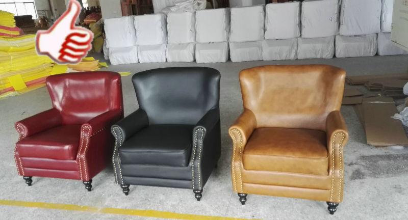 New Arrival Leather Chair, Club Chair, Single Sofa Chair (A888)