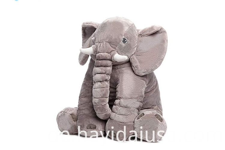 Sleeping Elephant Pillow
