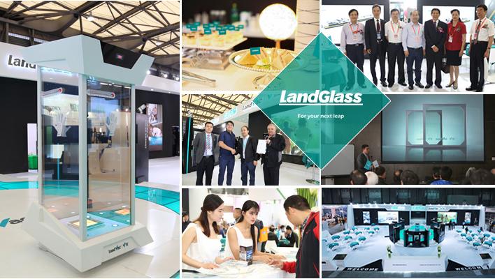 Landvac Hong Kong Hot Sale High Vacuum Vacuum Glassware for Bathroom Door