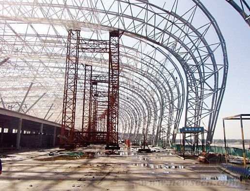 Light Steel Structure and Tube Truss Structure Workshop Warehouse and Factory