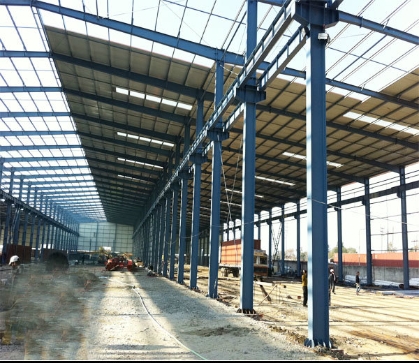 Ce Approved Structural Steel Prefabricated Building