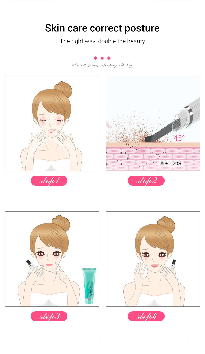 Portable Electric Facial Dead Skin Peeling Machine